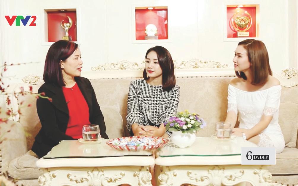 Phượng Hồng Kông tư vấn về làm đẹp trên truyền hình – Tạp chí Đẹp Ella