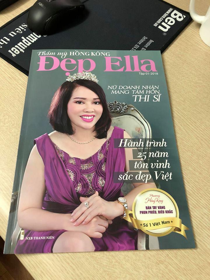 Ra mắt Tạp chí Đẹp Ella – THƯ NGỎ của Giám đốc Phượng Hồng Kông – Tạp chí Đẹp Ella